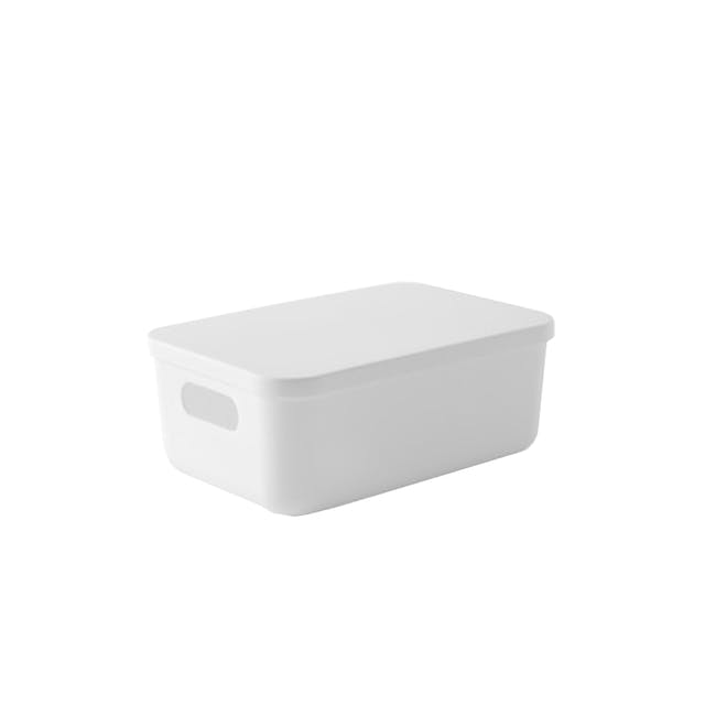 Lussa Storage Box with Lid - Small - 0