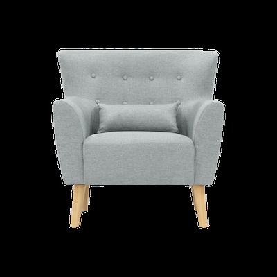Sofia Armchair - Silver - Image 1