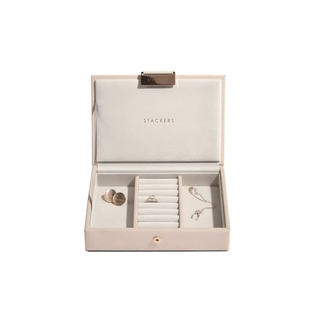 Stackers Mini Jewellery Box with Lid - Blush - 0