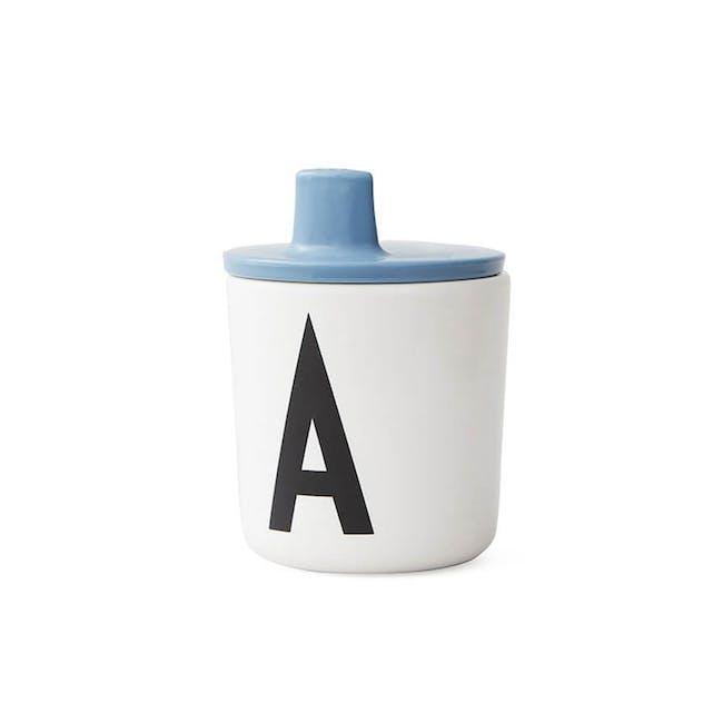Drink Lid for melamine cup - Blue - 0