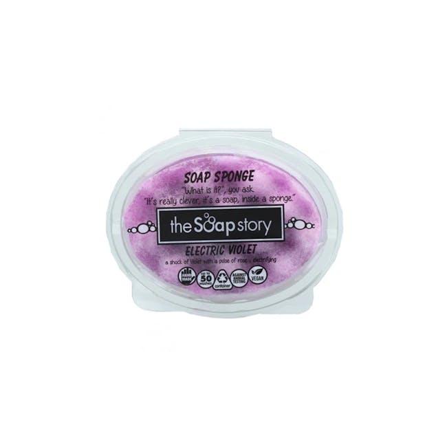 Soap Sponge 150g: Electric Violet - 0