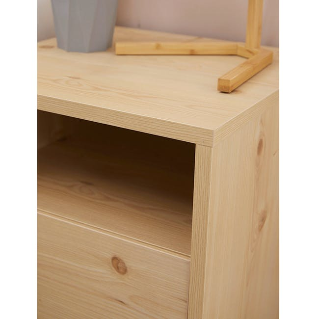 Syndy Bedside Table - 5