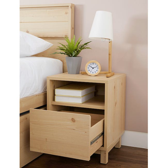 Syndy Bedside Table - 1