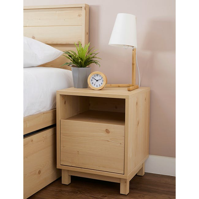 Syndy Bedside Table - 2