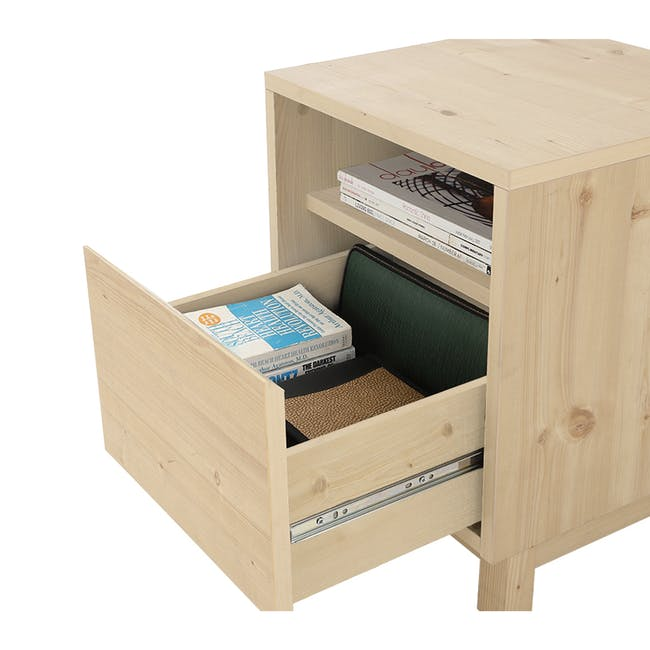 Syndy Bedside Table - 8