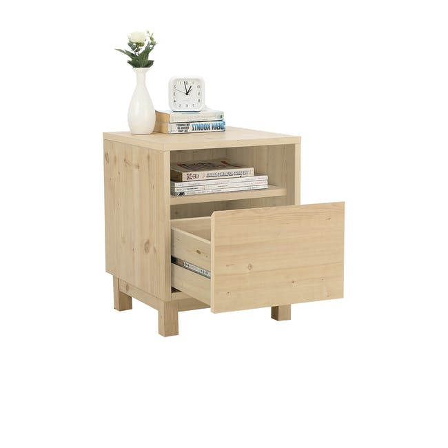 Syndy Bedside Table - 6