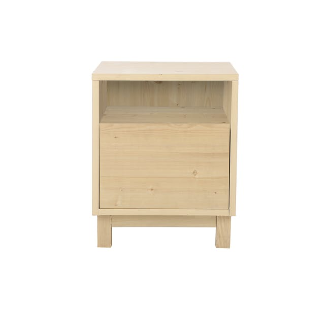 Syndy Bedside Table - 0