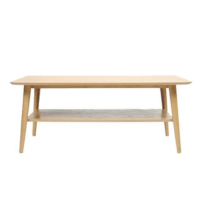 Blythe Coffee Table - Oak - 0