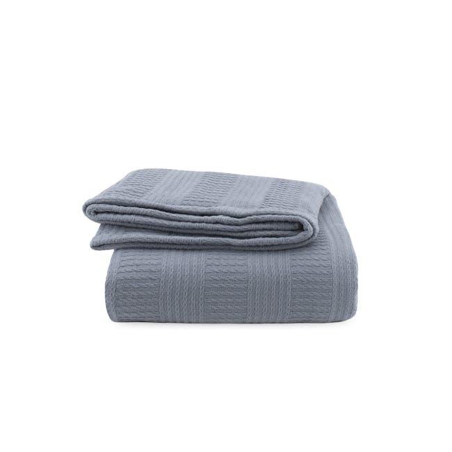 Canningvale Corda Blanket - Artesian Blue (2 Sizes) - 0