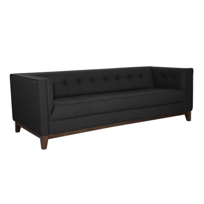 Atwood 3 Seater Sofa - Dark Grey Cashmere - Image 2