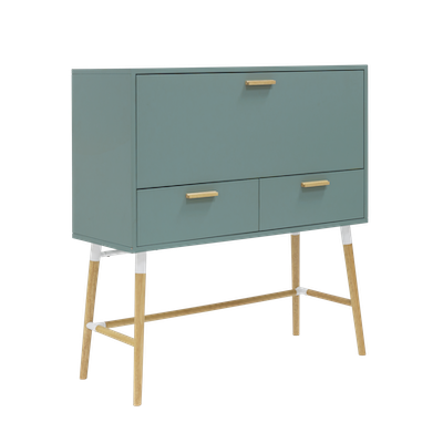 Arod Working Desk - Sage Green - Image 1