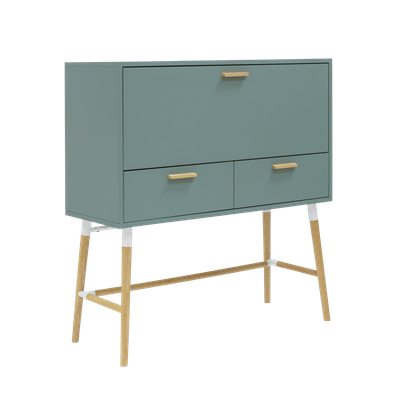 Arod Working Desk - Sage Green - Image 1