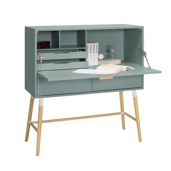 Arod Study Table - Sage Green - 5