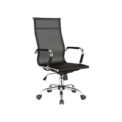 Eames High Back Mesh Office Chair - Black - Image 2