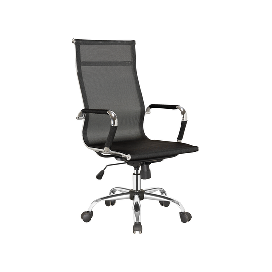 Office Chairs by HipVan - Eames High Back Mesh Office Chair - Black