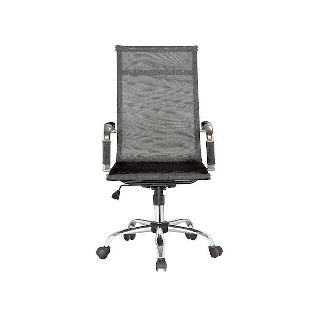 Eames High Back Mesh Office Chair Replica - Black - 0