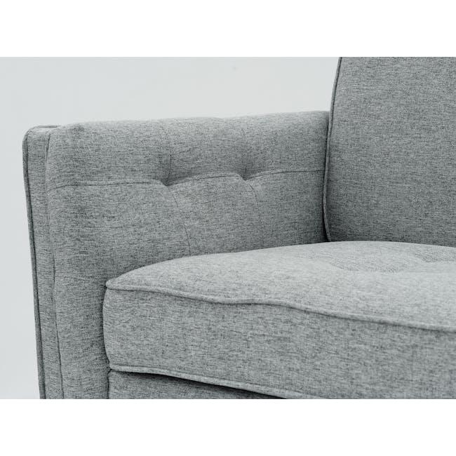 Byron 3 Seater Sofa with Byron Armchair - Siberian Grey - 1