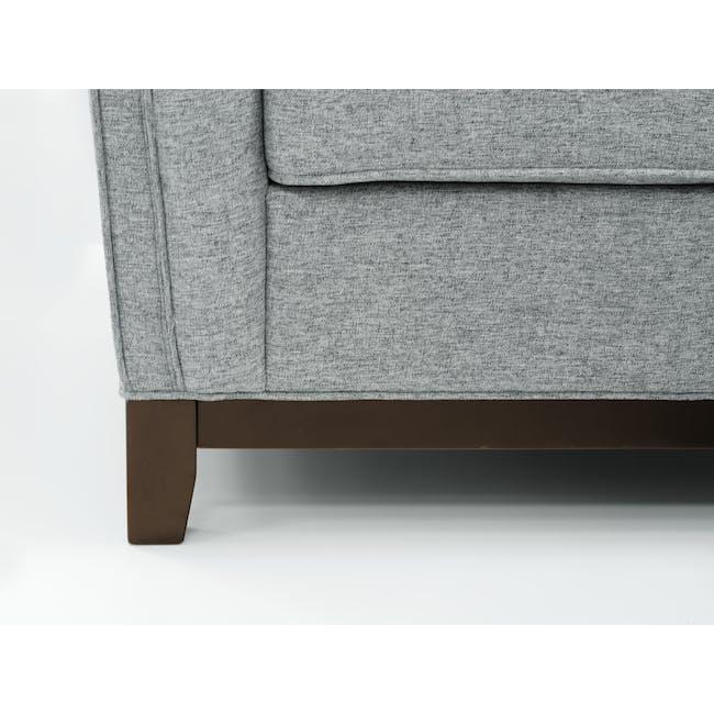 Byron 3 Seater Sofa with Byron Armchair - Siberian Grey - 2