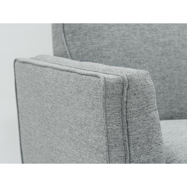 Byron 3 Seater Sofa with Byron Armchair - Siberian Grey - 3