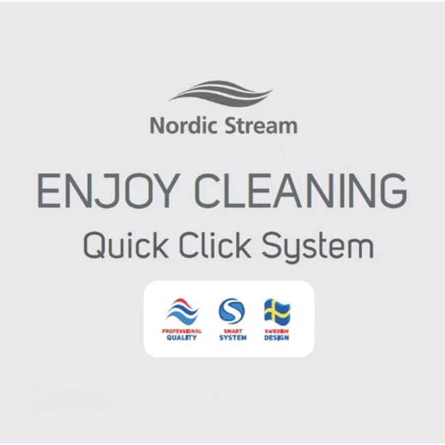Nordic Stream Microfiber Mop Dry Pocket Refills - 4