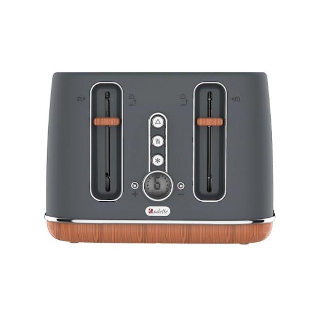 Odette Otto Series 4-Slice Bread Toaster - Grey - 1