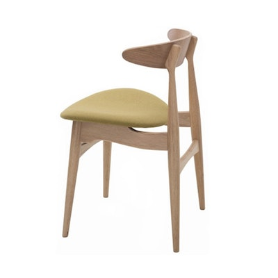 (As-is) Tricia Dining Chair - Oak, Oasis - 2 - Image 2