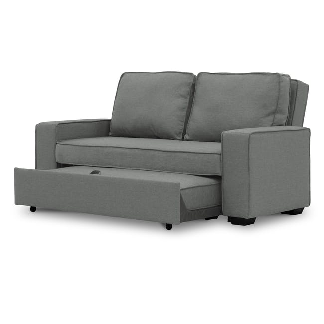 Arturo 3 Seater Sofa Bed - Pigeon Grey - 6