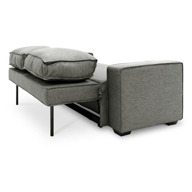 Arturo 3 Seater Sofa Bed - Pigeon Grey - 12
