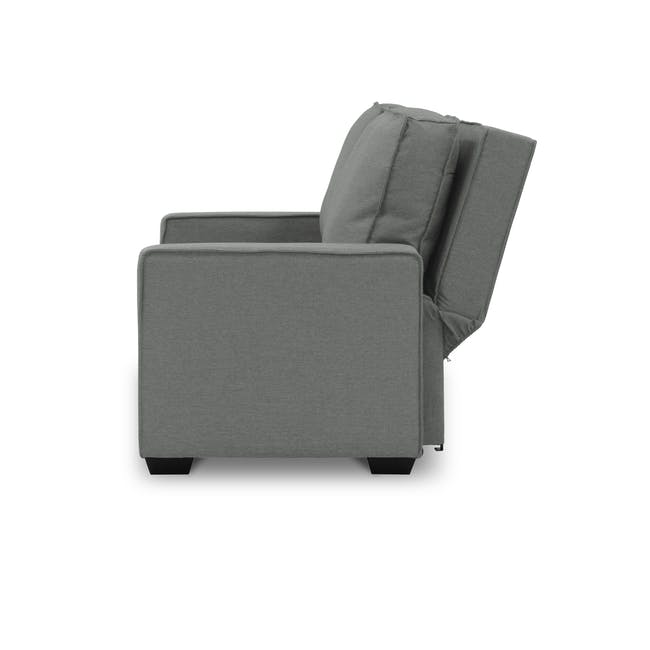 Arturo 3 Seater Sofa Bed - Pigeon Grey - 2