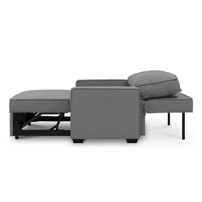 Arturo 3 Seater Sofa Bed - Pigeon Grey - 14