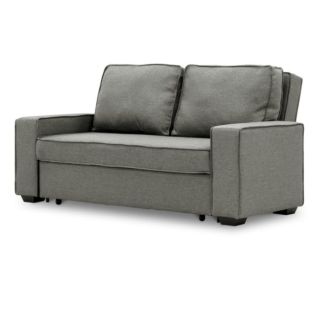 Arturo 3 Seater Sofa Bed - Pigeon Grey - 3