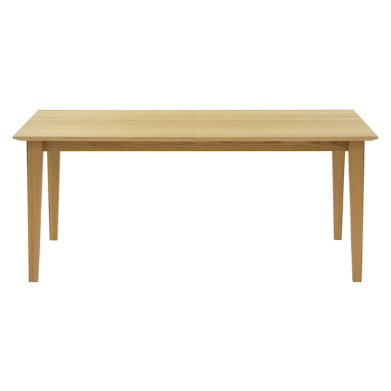 Laholm - Kiros Extendable Dining Table 1.8m - Oak, White