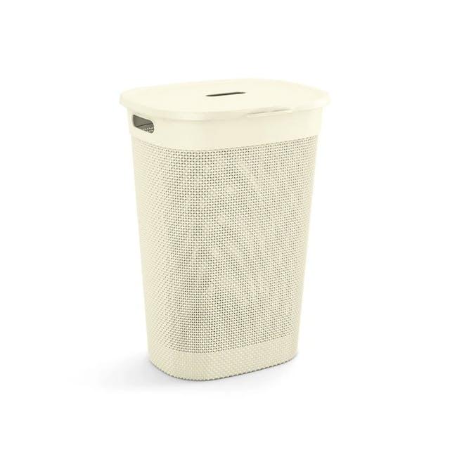 Filo Laundry Hamper - Romantic Ivory - 0