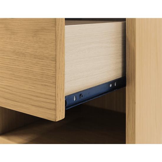 XSX - Kyoto Top Drawer Bedside Table - Oak