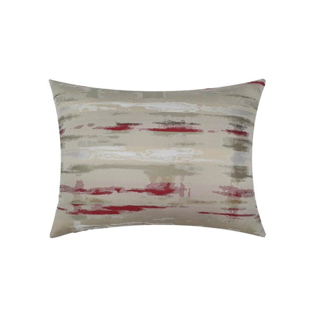 Eclipse Oblong Cushion Cover - Red - 0