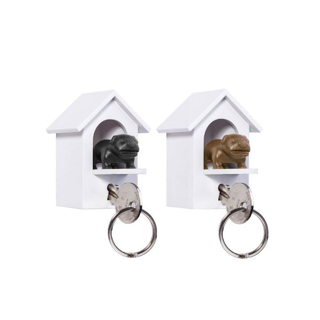 Watch Dog Key Holder - Black - 1