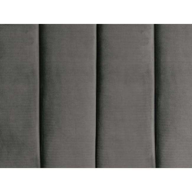 Lexi Queen 3 Drawer Bed - Moonstone (Velvet) - 12