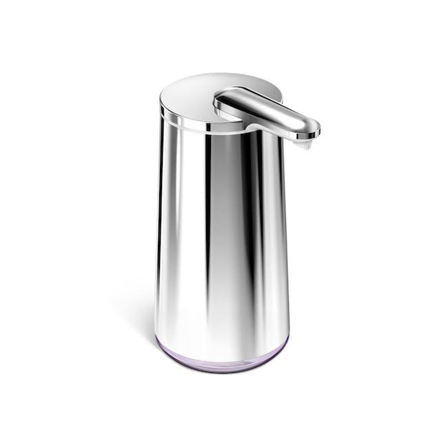 simplehuman Sensor 10oz Foam Soap Pump Rechargeable - Polished - 0