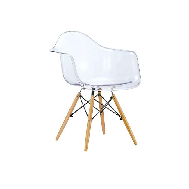 DAW Chair Replica - Natural, Clear - 0