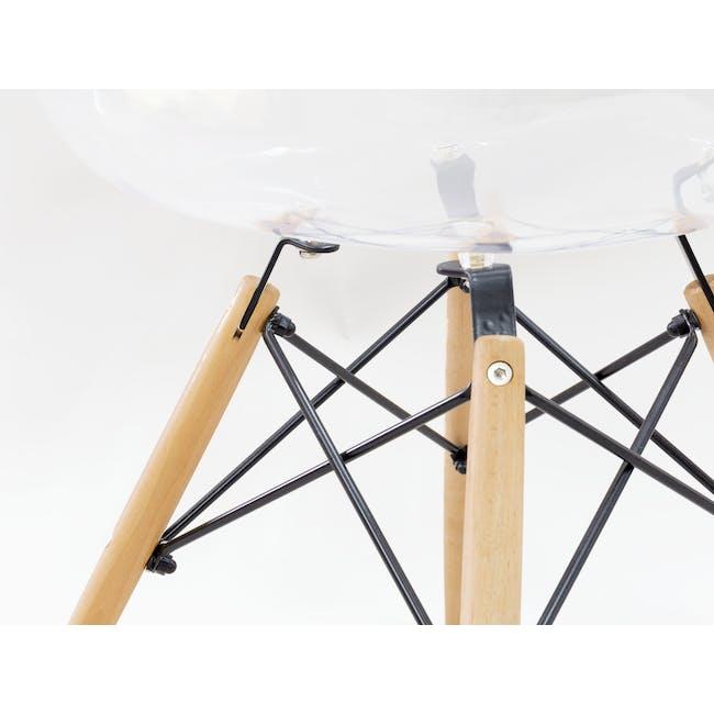 DAW Chair Replica - Natural, Clear - 2