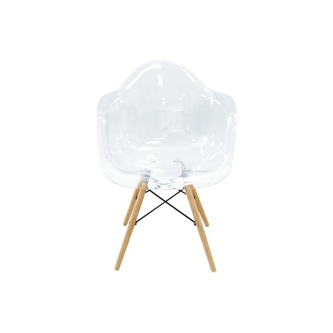 DAW Chair Replica - Natural, Clear - 4