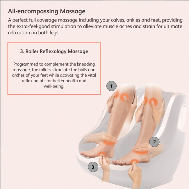 OSIM uPhoria Lite Leg Massager - 4