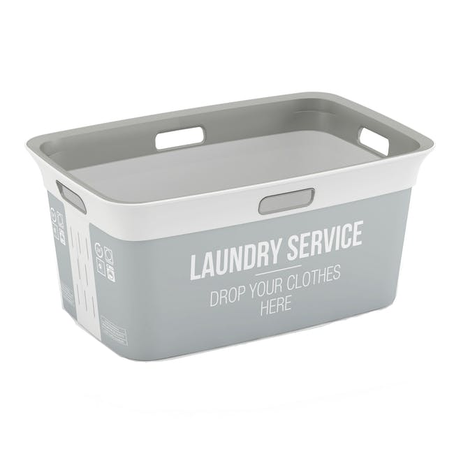 Chic Laundry Basket 45L - Home Service - 0