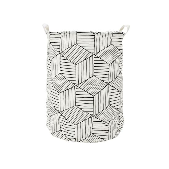 1688 - Cubes Laundry Basket - White