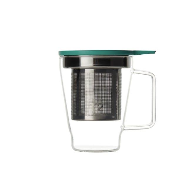 T2 Teaset Glass Teamug - Aqua - 0