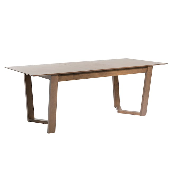Meera Extendable Dining Table 1.6m - Cocoa - 9