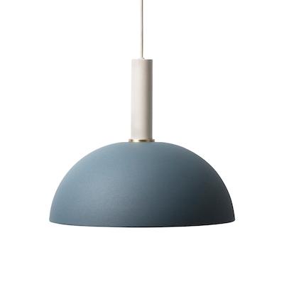 Buy ceiling pendant lamps online in singapore hipvan erin pendant lamp light grey dark blue image 1 aloadofball Images
