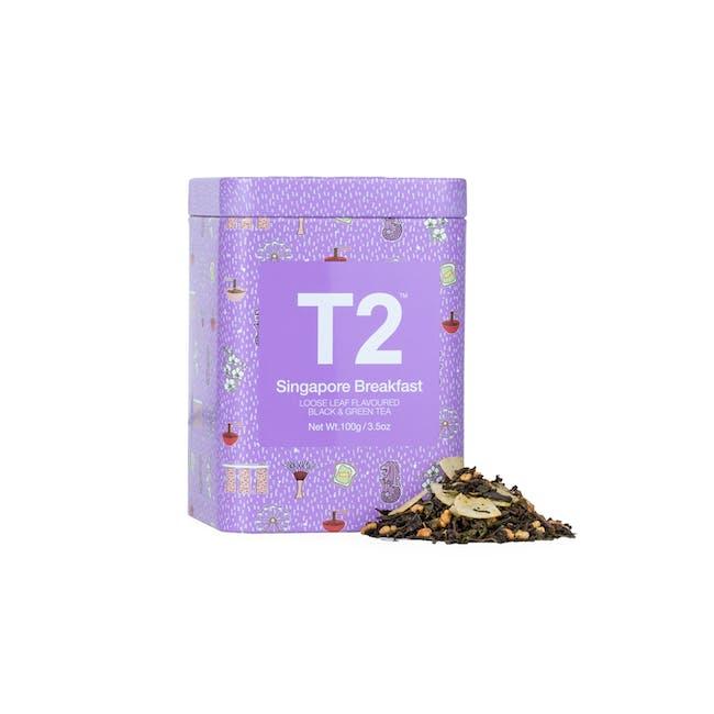 T2 Icon Tins - Singapore Breakfast - 0