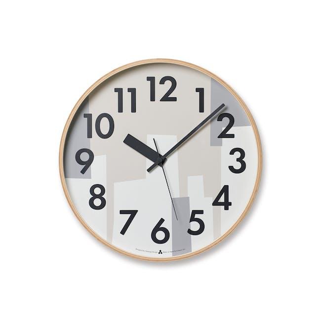 Kasumi Clock - Beige - 0