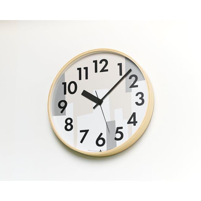 Kasumi Clock - Beige - 1
